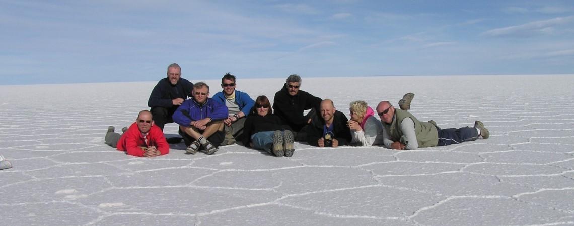 Uyumi soolajärv Boliivias
