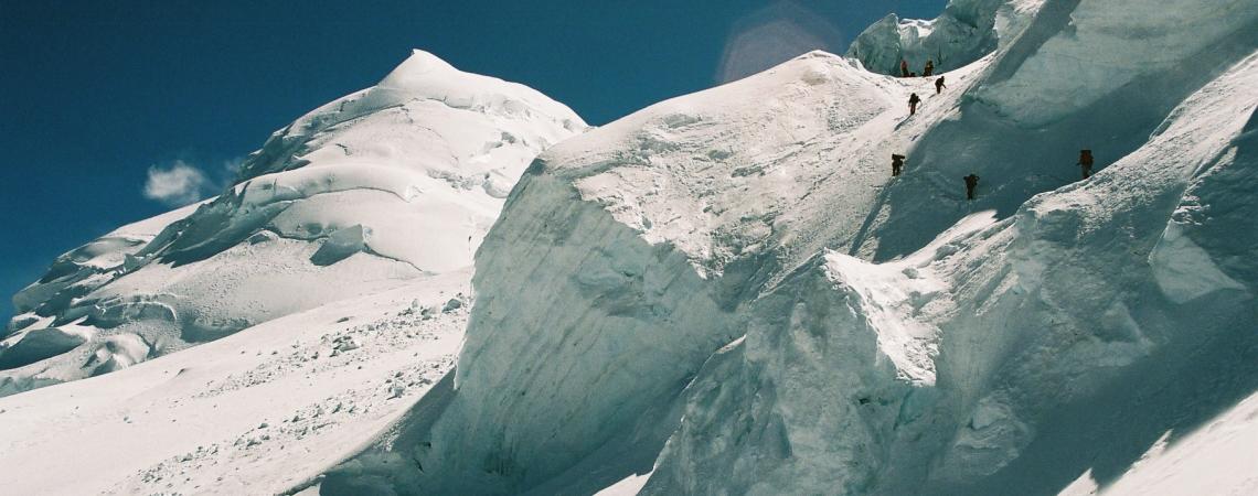 Peruu kõrgeim tipp Huascaran
