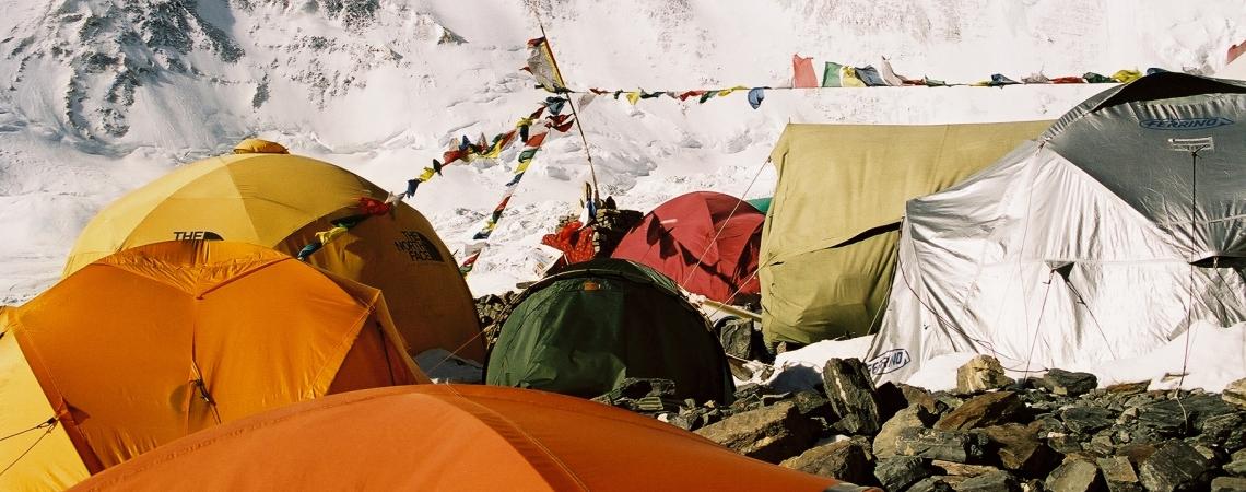Everesti ülemine baas Tiibetis